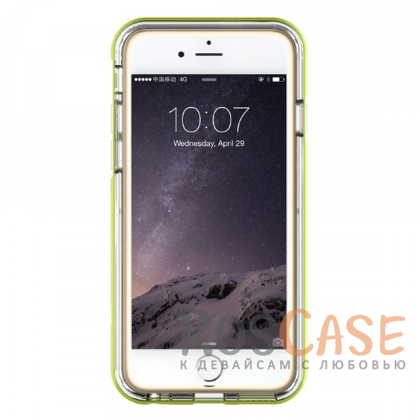 фото светящийся TPU чехол ROCK Tube Series для Apple iPhone 6/6s (4.7
