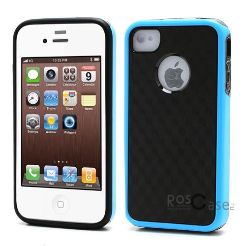 TPU+PC чехол 3D Cube Series для Apple iPhone 4/4SОписание:производитель -&amp;nbsp;Epik;совместимость: Apple iPhone 4/4S;материал: термополиуретан;форма: накладка.Особенности:эластичный;стильный и современный дизайн;высокое качество материалов;легкость установки и снятия;не увеличивает размеры устройства.<br><br>Тип: Чехол<br>Бренд: Epik<br>Материал: TPU
