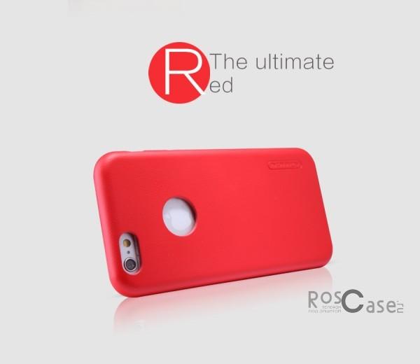 Чехол накладка Nillkin Victoria Series для Apple iPhone 6/6s (4.7) (Красный)Описание:производитель  -  фирма Nillkin;разработан специально для Apple iPhone 6/6s (4.7);материал  -  искусственная кожа;тип  -  накладка.&amp;nbsp;Особенности:мягкая на ощупь;все функциональные вырезы на своих местах;не остаются отпечатки пальцев;тонкий дизайн;защищает от царапин и падений;не скользит.<br><br>Тип: Чехол<br>Бренд: Nillkin<br>Материал: Искусственная кожа