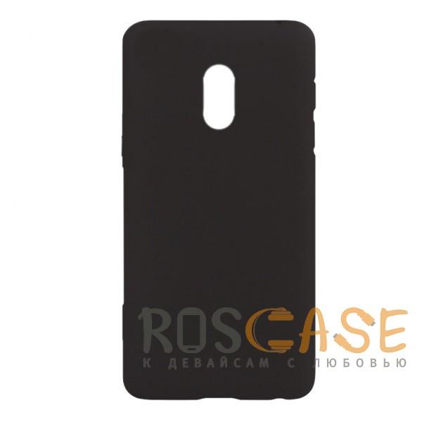 Фото Черный J-Case THIN   Гибкий силиконовый чехол для Meizu 15 Lite / M15 (China)