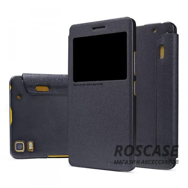 Кожаный чехол (книжка) Nillkin Sparkle Series для Lenovo A7000/K3 Note/K50T (Черный)Описание:бренд&amp;nbsp;Nillkin;изготовлен специально для Lenovo A7000/K3 Note/K50T;материал: искусственная кожа, поликарбонат;тип: чехол-книжка.Особенности:не скользит в руках;защита от механических повреждений;интерактивное окошко;не выгорает;блестящая поверхность;надежная фиксация.<br><br>Тип: Чехол<br>Бренд: Nillkin<br>Материал: Искусственная кожа