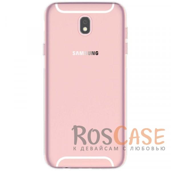 Ультратонкий чехол из прозрачного силикона CaseGuru для Samsung J330 Galaxy J3 (2017) (Бесцветный (прозрачный))Описание:бренд -&amp;nbsp;CaseGuru;совместим с Samsung J330 Galaxy J3 (2017);ультратонкий дизайн;материал - TPU;тип - накладка;прозрачный;защищает от ударов и царапин;гибкий.<br><br>Тип: Чехол<br>Бренд: CaseGuru<br>Материал: Силикон