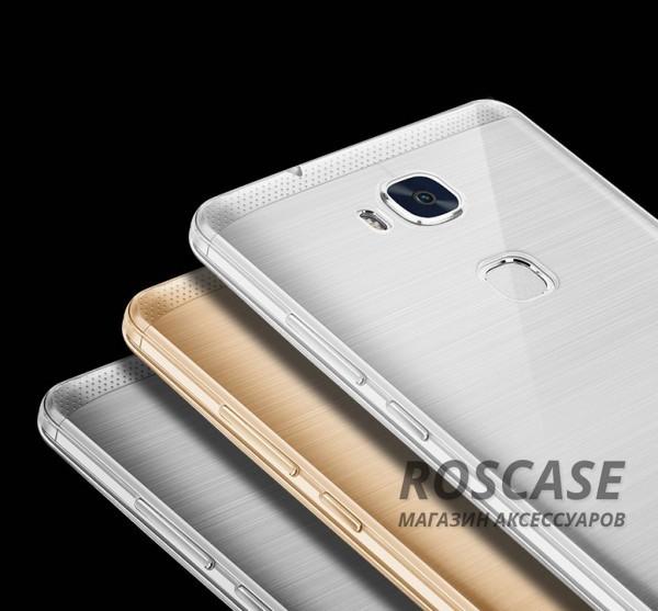 Тонкий прозрачный силиконовый чехол Msvii для Huawei Honor 5X / GR5 с заглушкой +стеклоОписание:производитель  -  Msvii;совместимость  -  смартфон Huawei Honor X5 / GR5;материал  -  силикон;форм-фактор  -  накладка.Особенности:имеется заглушка;прочность и износостойкость;не теряет эластичности;не деформируется;имеет все необходимые функциональные вырезы;не скользит в руках;защитное стекло на экран в комплекте.<br><br>Тип: Чехол<br>Бренд: Epik<br>Материал: TPU