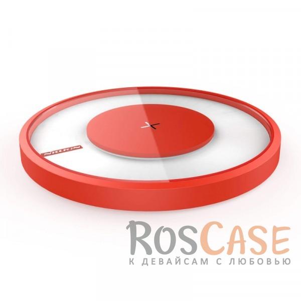 Изображение Красный Nillkin Magic Charger DISK 4 | Беспроводное зарядное устройство