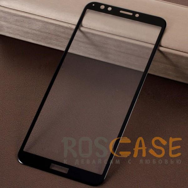 Caisles 5D | Гибкое защитное стекло для Huawei Y7 Prime (2018) / Honor 7C pro на весь экран