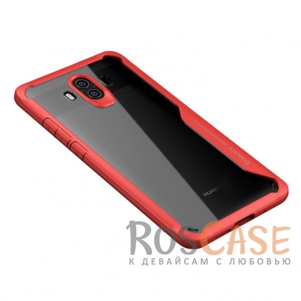 Фотография Красный iPaky Luckcool | Чехол для Huawei Mate 10 с цветными силиконовыми вставками