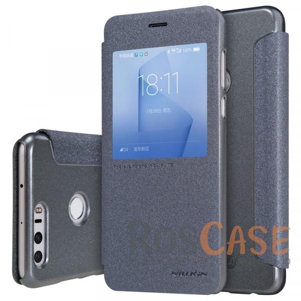Кожаный чехол (книжка) Nillkin Sparkle Series для Huawei Honor 8 (Черный)Описание:производитель -&amp;nbsp;Nillkin;разработан для Huawei Honor 8;материалы - искусственная кожа, поликарбонат;тип - чехол-книжка.Особенности:блестящая поверхность;защита от царапин и ударов;тонкий дизайн;функция Sleep mode;окошко в обложке;защита со всех сторон;не скользит в руках.<br><br>Тип: Чехол<br>Бренд: Nillkin<br>Материал: Искусственная кожа