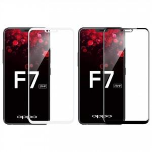 5D защитное стекло для Oppo F7 на весь экран