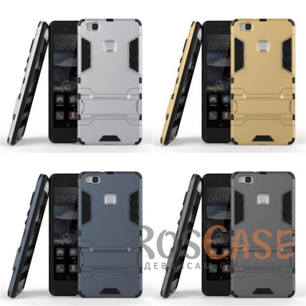 Ударопрочный чехол-подставка Transformer для Huawei P9 Lite с мощной защитой корпусаОписание:подходит для Huawei P9 Lite;материалы: термополиуретан, поликарбонат;формат: накладка.&amp;nbsp;Особенности:функциональные вырезы;функция подставки;двойная степень защиты;защита от механических повреждений;не скользит в руках.<br><br>Тип: Чехол<br>Бренд: Epik<br>Материал: TPU