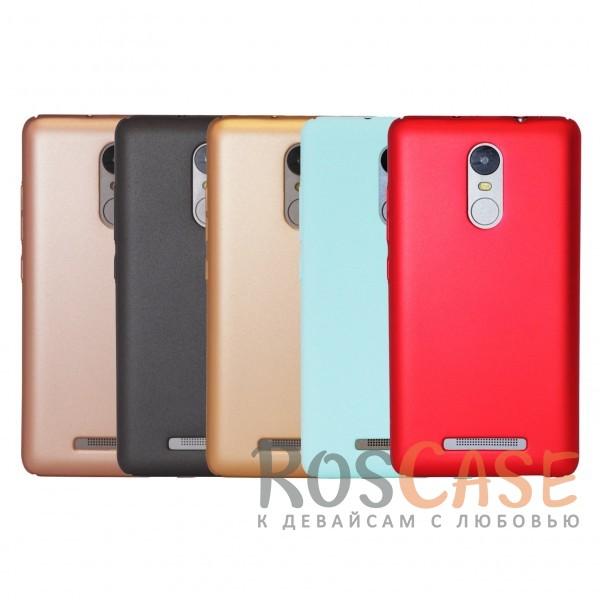 Матовая soft-touch накладка Joyroom из ударостойкого пластика с дополнительной защитой углов для Xiaomi Redmi Note 3/Redmi Note 3 ProОписание:бренд - Joyroom;совместимость - Xiaomi Redmi Note 3/Redmi Note 3 Pro;материал - пластик;тип - накладка.<br><br>Тип: Чехол<br>Бренд: Epik<br>Материал: Пластик