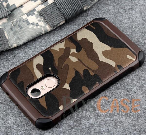 TPU чехол Military для Xiaomi Redmi Note 4 (Камуфляж Коричневый)Описание:разработан специально для Xiaomi Redmi Note 4;комуфляжная расцветка;материал - TPU;тип - накладка.<br><br>Тип: Чехол<br>Бренд: Epik<br>Материал: TPU