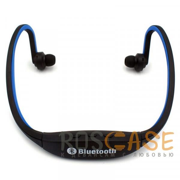 Фото ZK-S9 | Спортивные беспроводные наушники bluetooth с микрофоном (слот для microSD)