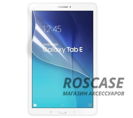 Защитная пленка Ultra Screen Protector для Samsung Galaxy Tab E 9.6 (Прозрачная)Описание:бренд&amp;nbsp; -  Epik;материал&amp;nbsp; -  полимер;совместимость&amp;nbsp;c&amp;nbsp;Samsung Galaxy Tab E 9.6;тип  -  защитная пленка.Особенности:поверхность&amp;nbsp; - &amp;nbsp;глянцевая или матовая;дизайн&amp;nbsp; -  ультратонкий;функциональное обеспечение&amp;nbsp; - &amp;nbsp;вырез для динамика и фронтальной камеры;функция&amp;nbsp; -  антиблик, антиотпечатки;способ поклейки:&amp;nbsp;электростатика.<br><br>Тип: Защитная пленка<br>Бренд: Epik