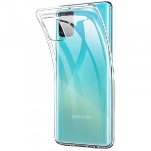 Clear Original | Прозрачный TPU чехол 2мм для Samsung Galaxy M51