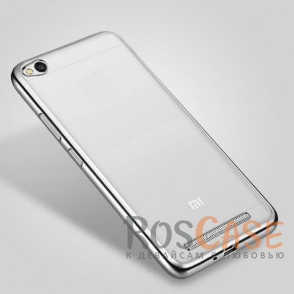 Прозрачный силиконовый чехол для Xiaomi Redmi 4a с глянцевой окантовкой (Серебряный)Описание:совместим с Xiaomi Redmi 4a;глянцевая окантовка;материал - TPU;тип - накладка.<br><br>Тип: Чехол<br>Бренд: Epik<br>Материал: TPU