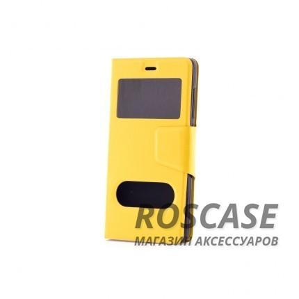 Чехол (книжка) с TPU креплением для Xiaomi Mi 4i / Mi 4c (Желтый)Описание:производитель - бренд&amp;nbsp;Epik;разработан для Xiaomi Mi 4i / Mi 4c;материал: искусственная кожа;тип: чехол-книжка.&amp;nbsp;Особенности:имеются функциональные вырезы;магнитная застежка;защита от ударов и падений;окошки в обложке;ответ на вызов через обложку;не скользит в руках.<br><br>Тип: Чехол<br>Бренд: Epik<br>Материал: Искусственная кожа