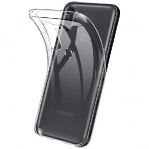 Прозрачный силиконовый чехол  для Samsung Galaxy A11