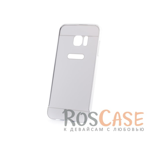 Металлический бампер с пластиковой вставкой для Samsung G935F Galaxy S7 Edge (Серебряный)Описание:сделан для Samsung G935F Galaxy S7 Edge;материалы: металл, пластик;тип чехла: бампер со вставкой.Особенности:металлическая окантовка;эргономичный дизайн;защита от механических повреждений;вставка из пластика;предусмотрены все функциональные вырезы;прочно фиксируется.<br><br>Тип: Чехол<br>Бренд: Epik<br>Материал: Металл
