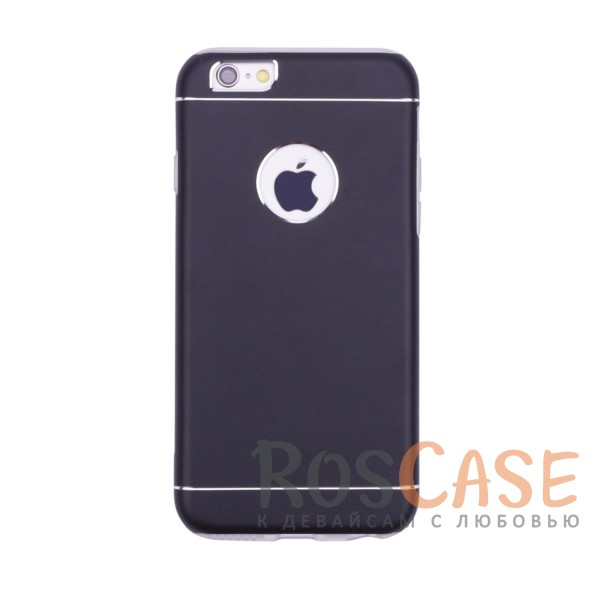 Тонкий двухслойный алюминиевый чехол с хромированными вставками и защитой кнопок для Apple iPhone 6/6s (4.7) (Черный)Описание:разработан для&amp;nbsp;Apple iPhone 6/6s (4.7);материалы - металл, термополиуретан;двухслойная конструкция;матовый на ощупь;на нем не заметны отпечатки пальцев;тип - накладка;предусмотрены все необходимые вырезы.<br><br>Тип: Чехол<br>Бренд: Epik<br>Материал: Металл