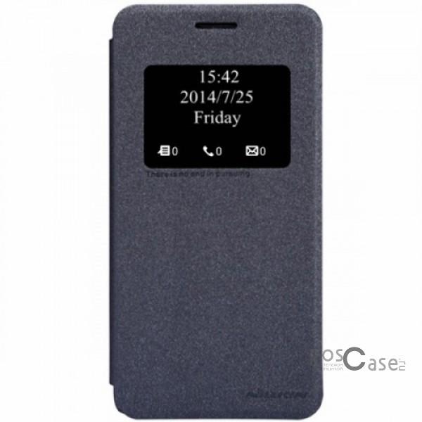 Кожаный чехол (книжка) Nillkin Sparkle Series для Asus Zenfone 5 (A501CG) (Черный)Описание:Изготовлен компанией&amp;nbsp;Nillkin;Спроектирован персонально для Asus Zenfone 5&amp;nbsp;(A501CG);Материал: синтетическая кожа и полиуретан;Форма: чехол в виде книжки.Особенности:Исключается появление царапин и возникновение потертостей;Восхитительная амортизация при любом ударе;Фактурная поверхность;Удобное интерактивное окошко;Не подвергается деформации;Непритязателен в уходе.<br><br>Тип: Чехол<br>Бренд: Nillkin<br>Материал: Искусственная кожа