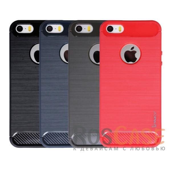 TPU чехол iPaky Slim Series для Apple iPhone 5/5S/SEОписание:бренд - iPaky;совместим с Apple iPhone 5/5S/SE;материал: термополиуретан;тип: накладка.Особенности:эластичный;свойство анти-отпечатки;защита углов от ударов;ультратонкий;защита боковых кнопок;надежная фиксация.<br><br>Тип: Чехол<br>Бренд: Epik<br>Материал: TPU