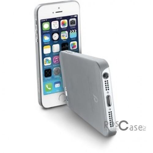 фото пластиковой накладки Cellular Line 0,35 mm для Apple iPhone 5/5S/5SE (+ пленка)