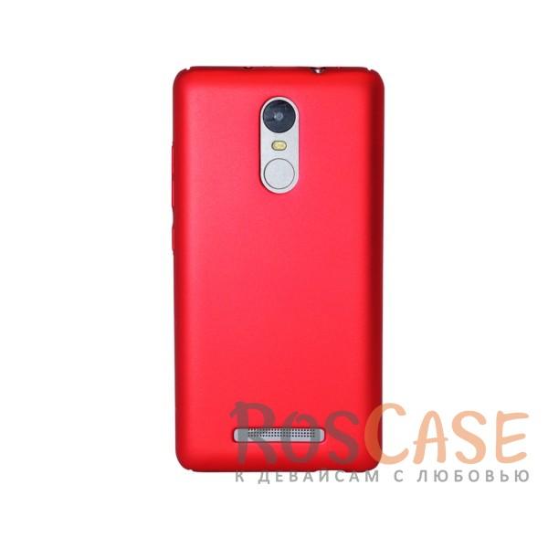 Матовая soft-touch накладка Joyroom из ударостойкого пластика с дополнительной защитой углов для Xiaomi Redmi Note 3/Redmi Note 3 Pro (Красный)Описание:бренд - Joyroom;совместимость - Xiaomi Redmi Note 3/Redmi Note 3 Pro;материал - пластик;тип - накладка.<br><br>Тип: Чехол<br>Бренд: Epik<br>Материал: Пластик