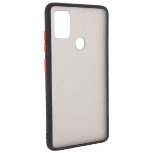 Противоударный матовый полупрозрачный чехол  для Samsung Galaxy M21