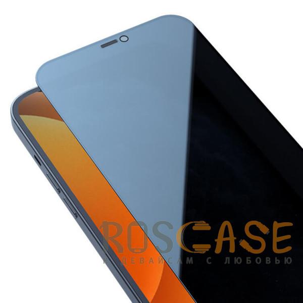 Изображение Черное Nillkin Privacy   Защитное закаленное стекло Антишпион для iPhone 12 / 12 Pro