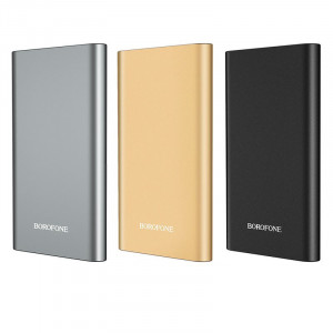 Внешний аккумулятор для телефона Power Bank Borofone BT19A (метал) 10000mAh для Meizu Pro 7
