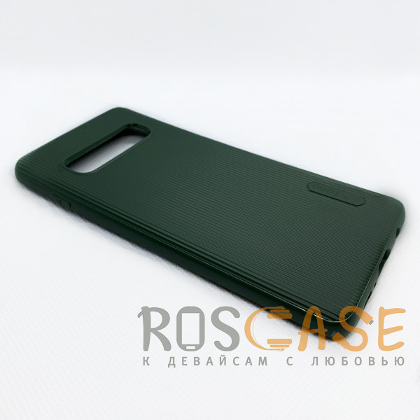 Фотография Зеленый Силиконовая накладка Fono для Samsung Galaxy S10