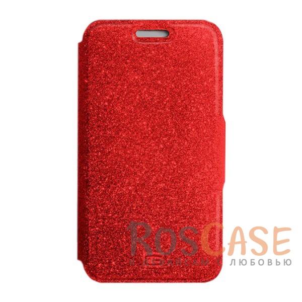 Стильный блестящий защитный чехол-книжка Gresso для смартфона с диагональю 5.5-6.0 дюймов (Красный)Описание:бренд -&amp;nbsp;Gresso;совместимость -&amp;nbsp;смартфоны с диагональю&amp;nbsp;5.5-6.0 дюймов;материал - искусственная кожа;тип - чехол-книжка;блестящая поверхность;силиконовый шелл-крепление;магнитная застежка;защита со всех сторон;ВНИМАНИЕ: убедитесь, что ваша модель устройства находится в пределах максимального размера чехла. Размеры чехла:&amp;nbsp;15,2х8,2 см.<br><br>Тип: Чехол<br>Бренд: Gresso<br>Материал: Натуральная кожа