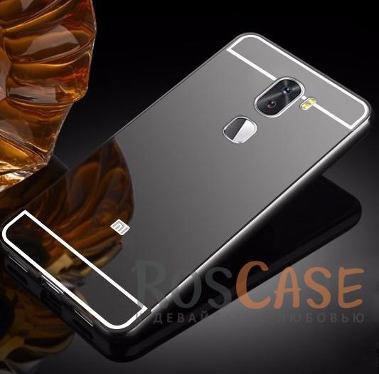 Защитный металлический бампер с зеркальной вставкой для Xiaomi Mi 5s Plus (Черный)Описание:разработан для Xiaomi Mi 5s Plus;материалы - металл, акрил;тип - бампер с задней панелью.<br><br>Тип: Чехол<br>Бренд: Epik<br>Материал: Металл