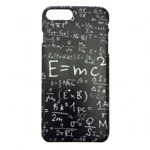 """Оригинальный чехол """"E=mc2"""" для Apple iPhone 7/8 Plus (5.5"""")"""