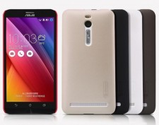 фото Матовый чехол Nillkin Super Frosted Shield для Asus Zenfone 2 (ZE551ML/ZE550ML) (+ пленка)