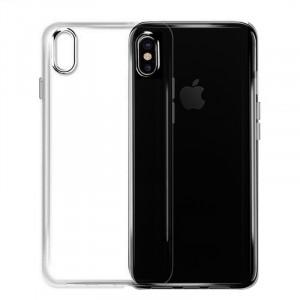 Ультратонкий силиконовый чехол  для iPhone XS