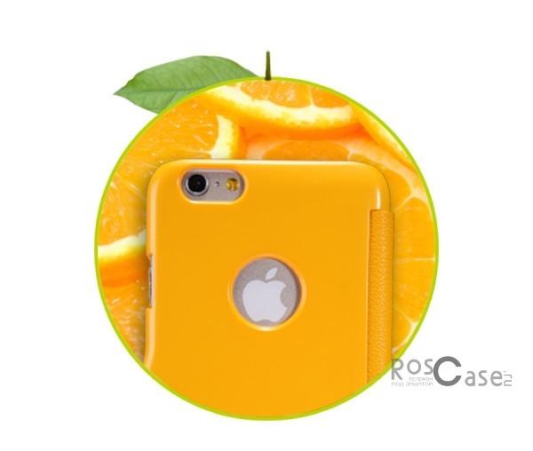 Кожаный чехол (книжка) Nillkin Fresh Series для Apple iPhone 6/6s (4.7)  (Желтый)Описание:Изготовлен компанией&amp;nbsp;Nillkin;Спроектирован персонально для Apple iPhone 6/6s (4.7);Материал: синтетическая высококачественная кожа и полиуретан;Форма: чехол в виде книжки.Особенности:Исключается появление царапин и возникновение потертостей;Восхитительная амортизация при любом ударе;Фактурная поверхность;Магнитная застежка;Не подвержен деформации;Непритязателен в уходе.<br><br>Тип: Чехол<br>Бренд: Nillkin<br>Материал: Искусственная кожа