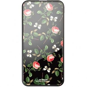 Bonen GlassPrint WK HP-55 | Портативное зарядное устройство Power Bank со стеклянным покрытием и принтом (10000 mAh) для Samsung Galaxy J5 2017 (J530)