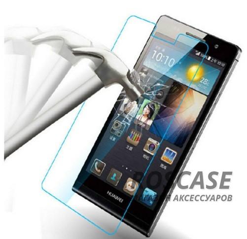 Защитное стекло Ultra Tempered Glass 0.33mm (H+) для Huawei Ascend P6 (картонная упаковка)Описание:совместимо с устройством Huawei Ascend P6;материал: закаленное стекло;тип: защитное стекло на экран.&amp;nbsp;Особенности:закругленные&amp;nbsp;грани стекла обеспечивают лучшую фиксацию на экране;стекло очень тонкое - 0,33 мм;отзыв сенсорных кнопок сохраняется;стекло не искажает картинку, так как абсолютно прозрачное;выдерживает удары и защищает от царапин;размеры и вырезы стекла соответствуют особенностям дисплея.<br><br>Тип: Защитное стекло<br>Бренд: Epik