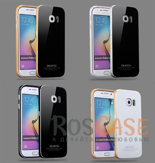 Металлический бампер Luphie с акриловой вставкой для Samsung Galaxy S6 G920F/G920DОписание:бренд -&amp;nbsp;Luphie;материал - алюминий, акриловое стекло;совместим с Samsung Galaxy S6 G920F/G920D;тип - бампер со вставкой.Особенности:акриловая вставка;прочный алюминиевый бампер;в наличии все вырезы;ультратонкий дизайн;защита устройства от ударов и царапин.<br><br>Тип: Чехол<br>Бренд: Luphie<br>Материал: Металл