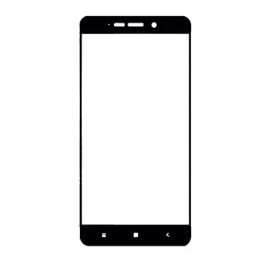 Защитное цветное стекло для Xiaomi Redmi 4 (в упаковке)