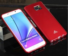 фото TPU чехол Mercury Jelly Color series для Samsung Galaxy Note 5