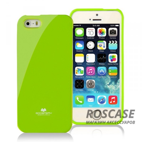 фото TPU чехол Mercury Jelly Color series для Apple iPhone 5/5S/5SE