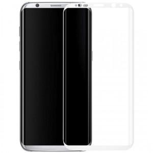 Devia | Ударопрочное стекло с полной защитой экрана и цветной рамкой по краям для Samsung G950 Galaxy S8 / S9