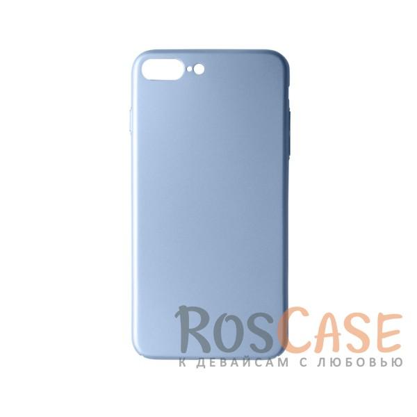 Пластиковая накладка soft-touch с защитой торцов Joyroom для Apple iPhone 7 plus (5.5) (Серебряный)<br><br>Тип: Чехол<br>Бренд: Epik<br>Материал: Пластик