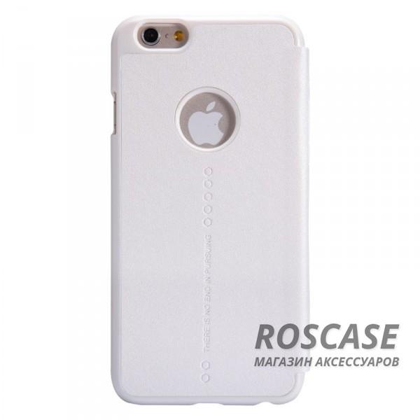 Кожаный чехол (книжка) Nillkin Sparkle Series для Apple iPhone 6/6s (4.7)  (Белый)Описание:разработчик и производитель Nillkin;изготовлен из синтетической кожи и поликарбоната;фактурная поверхность;тип конструкции: чехол-книжка;совместим с Apple iPhone 6/6s (4.7).&amp;nbsp;Особенности:внутренняя отделка из микрофибры;ультратонкий;не скользит в руках;яркая, насыщенная палитра цветов.<br><br>Тип: Чехол<br>Бренд: Nillkin<br>Материал: Искусственная кожа