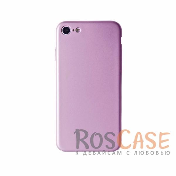 Пластиковая накладка soft-touch с защитой торцов Joyroom для Apple iPhone 7 (4.7) (Розовый)<br><br>Тип: Чехол<br>Бренд: Epik<br>Материал: Пластик