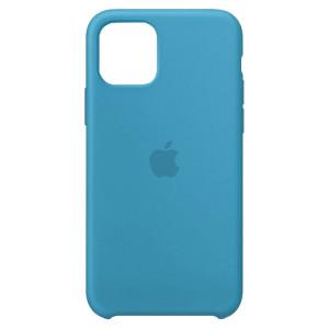 Силиконовый чехол Silicone Case с микрофиброй  для iPhone 11 Pro Max