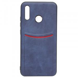 ILEVEL | Чехол с кожаным покрытием и карманом  для Huawei Honor 9X