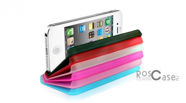 фото пластиковая накладка Nuoku Fresh Series для Apple iPhone 5/5S/5SE (+ пленка)